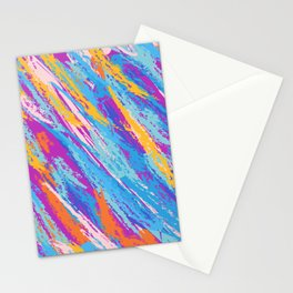 Rebellion of summer colors Stationery Cards