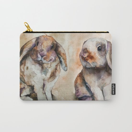 BUNNY #2 Carry-All Pouch