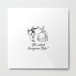 Gangnam Style Metal Print