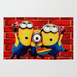 Minion Wallpaper Rug