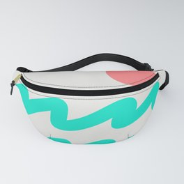 Abstract Landscape 08 Fanny Pack