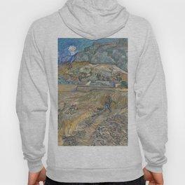 Vincent van Gogh - Landscape at Saint-Rémy (Enclosed Field with Peasant) (1889) Hoody