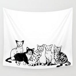 CAT AVENGER Wall Tapestry
