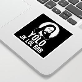 Jesus Jesus Christ Jesus Figure Catholic Sticker