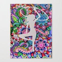Art in Flow Arts Canvas Print