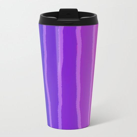 Vertical Color Tones #4 Metal Travel Mug