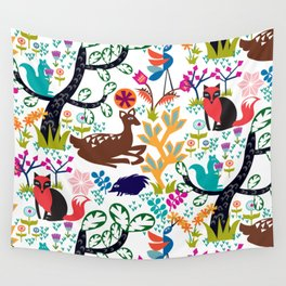Forest Fairytale Wall Tapestry
