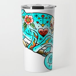 Tattooed Chameleon Travel Mug