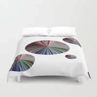 circle Duvet Covers featuring circle by  Agostino Lo Coco