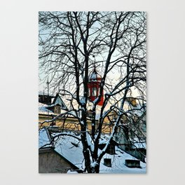 Red Tower Canvas Print
