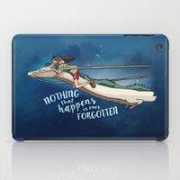 spirited away iPad Cases featuring spirited away  by Elisa Hurtado