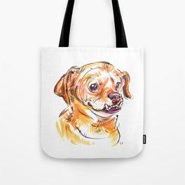 Daisy Underbite Tote Bag