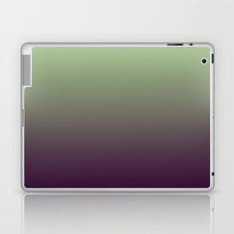 Modern mint green purple ombre pattern Laptop & iPad Skin
