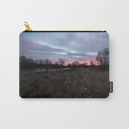 Winter Sunrise Over Chasewater Carry-All Pouch