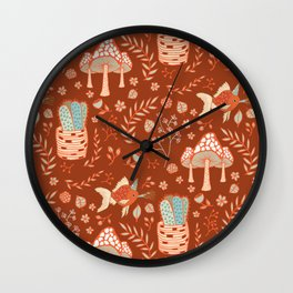 Party Of One Goldfish Birthday Wall Clock