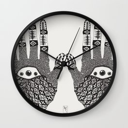 Hand Eye Coordination Wall Clock
