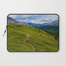 Views Along the Wilcox Pass Trail in Jasper National Park, Canada Laptop Sleeve