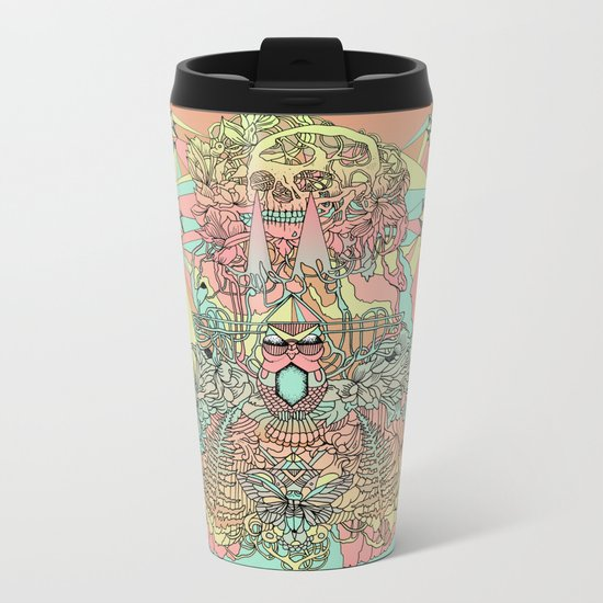 the functioning parts Metal Travel Mug