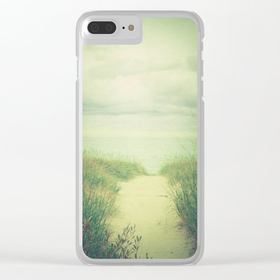 Finding Calm Clear iPhone Case