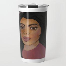 Folk art insta baddie Travel Mug