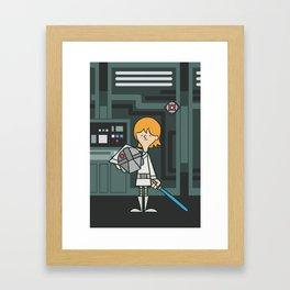 EP4 : Luke Skywalker Framed Art Print
