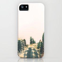 Desert Cactus 3 iPhone Case