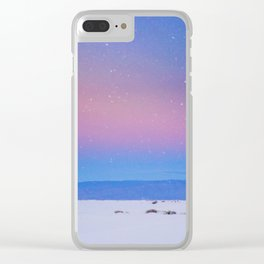 desert sky Clear iPhone Case