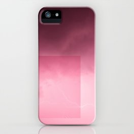 Pink Lightning iPhone Case