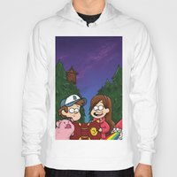 gravity falls Hoodies featuring Gravity Falls by toibi