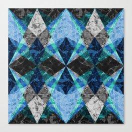 Marble Geometric Background G432 Canvas Print