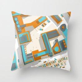 Ground #03 Throw Pillow