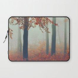 Dreamy November Forest Laptop Sleeve