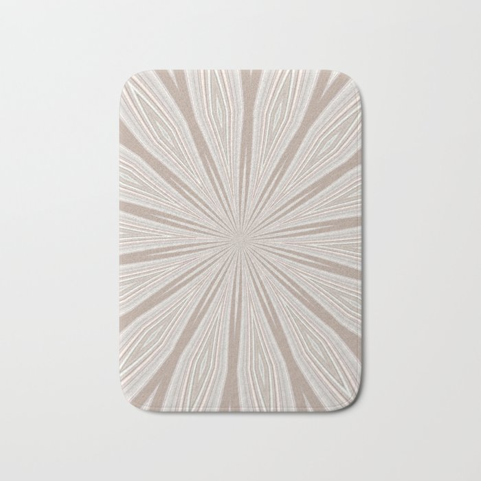 Flower petal design Bath Mat