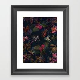 Fall in Love #buyart #floral Framed Art Print
