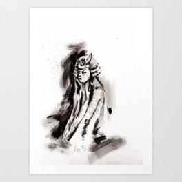 El arte de la guerra (sketch version) Art Print