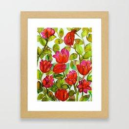 Flowery Concoction  Framed Art Print