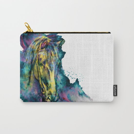 Horse Chained Beauty Carry-All Pouch