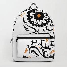 Sugar Skull SF - white Backpack