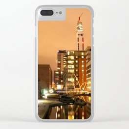 Birmingham and Fazeley Canal At Fleet Street Clear iPhone Case