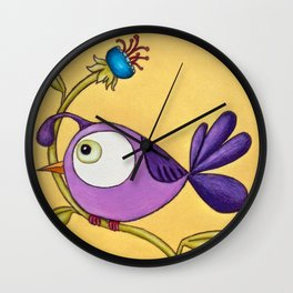 All Dressed Up for the Ladies Wall Clock