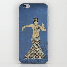 Belly dancer 4 iPhone & iPod Skin