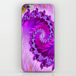 Wave Roll iPhone Skin