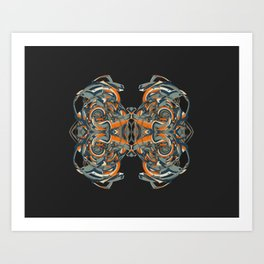 Cuentos de amor de locura y de muerte / 002 Art Print