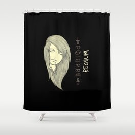 Din the lost princess Shower Curtain