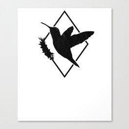 Humming Bird T-Shirt Gift I Spirit Animal Bird  Canvas Print