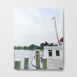 Working boat on MD Eastern Shore | Winnie Estelle Metal Print