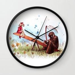 death's playground Wall Clock