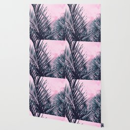 Summer Palms - Cali Vibes #1 #tropical #decor #art #society6 Wallpaper