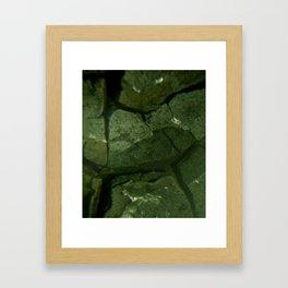 Industrial Microscopic Framed Art Print