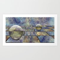 chess Art Prints featuring Chess by eMBie